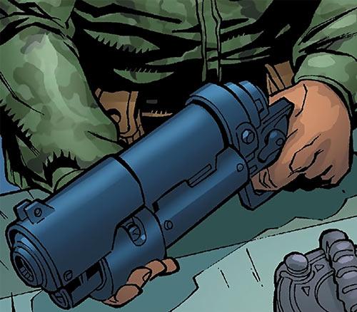 Human Defense Corps (DC Comics) pulser