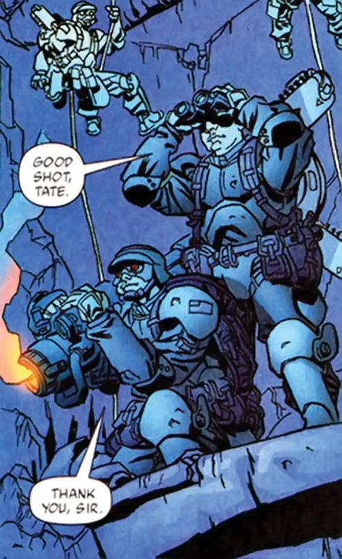 Human Defense Corps (DC Comics) long-range pulser