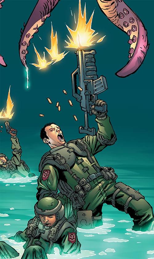 Human Defense Corps (DC Comics)