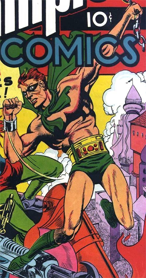 Human Meteor (Duke O'Dowd) (Champions Comics)