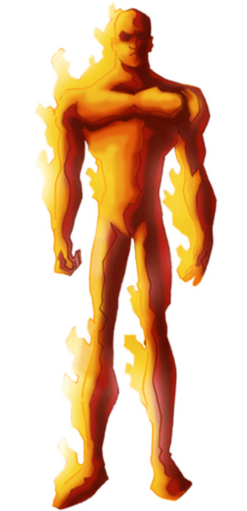 Human Torch of the Fantastic 4 (Marvel Comics) by RonnieThunderbolts 1/5