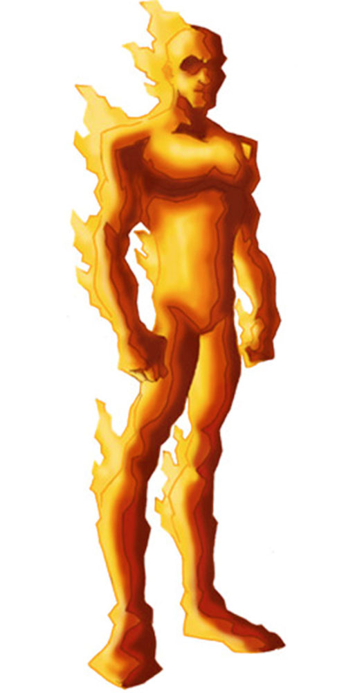 Human Torch of the Fantastic 4 (Marvel Comics) by RonnieThunderbolts 4/5