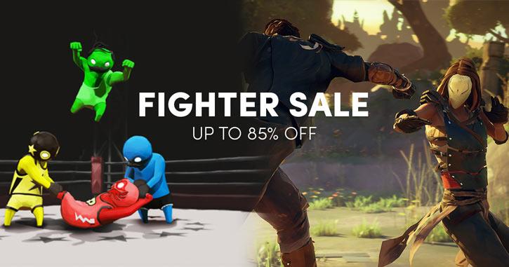 Humble Bundle fighter sale