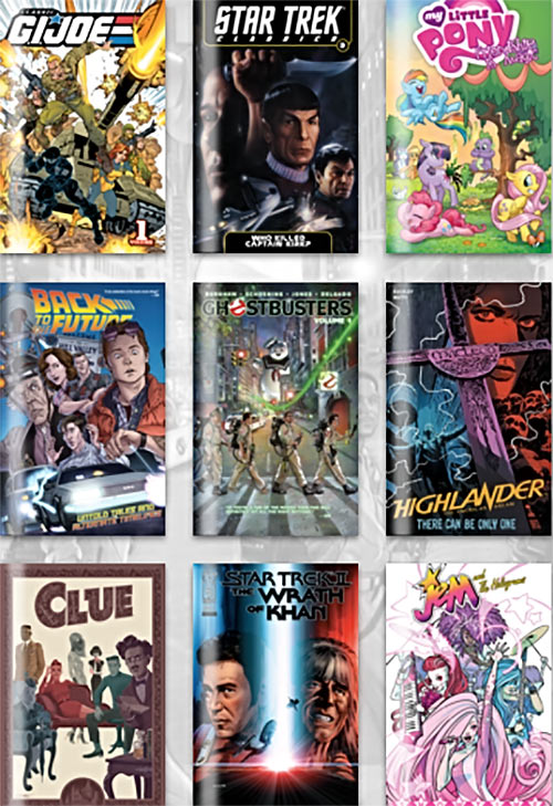 Humble Bundle IDW 1980s comics
