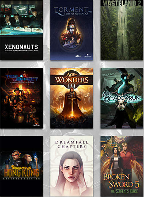 Humble Bundle InXile games late February 2018