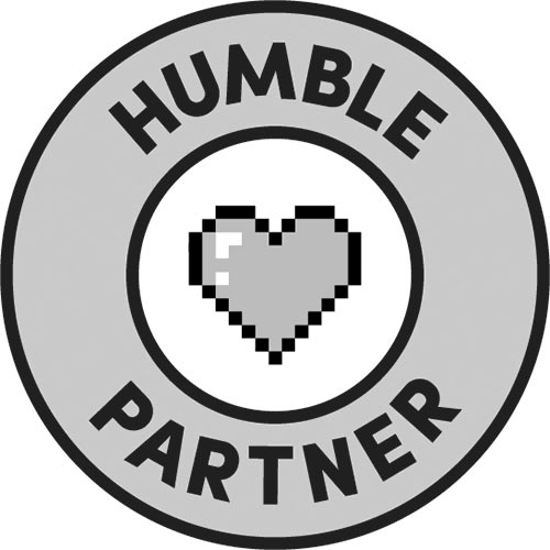 Humble Partner stamp grey
