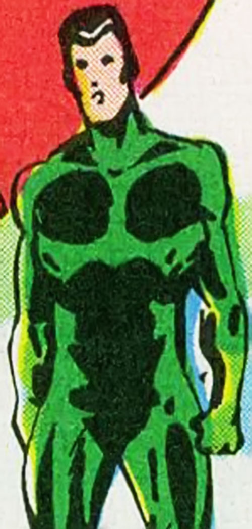 Hungyr of the Supremacists (Black Panther enemy) (Marvel Comics) in his green costume