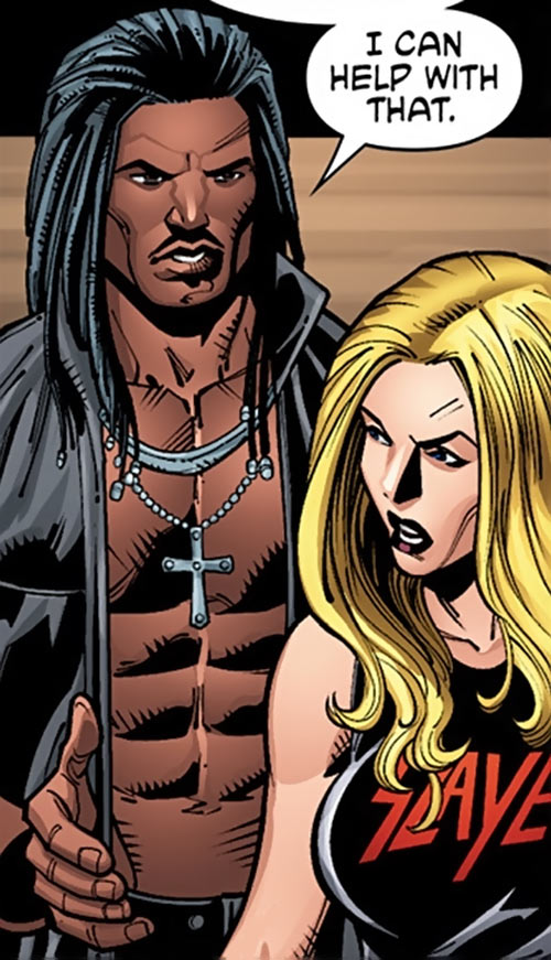 Hunter and Barb Wire (Dark Horse comics) in 2016