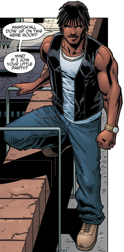 Hunter (Wolf Gang) (Dark Horse Comics) as a young man