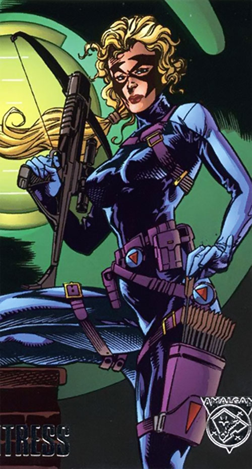 Huntress (Amalgam of Carol Danvers and Huntress)