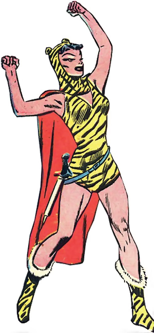 Huntress (Wildcat enemy) (DC Comics Golden Age)