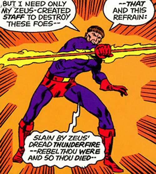 Huntsman of Zeus (Hercules and Namor enemy) (Marvel Comics) summoning