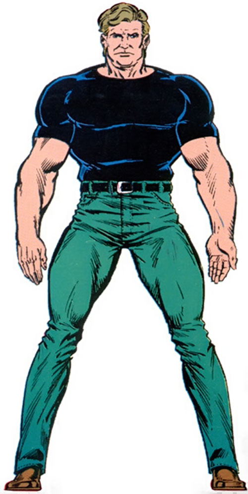 Hydroman (Marvel Comics) from the Master Edition handbook