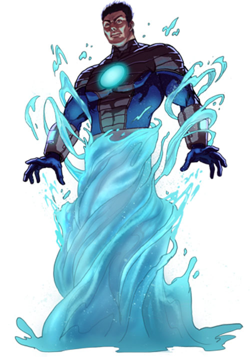Hydroman (Marvel Comics) splashing up