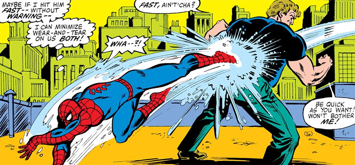 Hydroman vs. Spider-Man