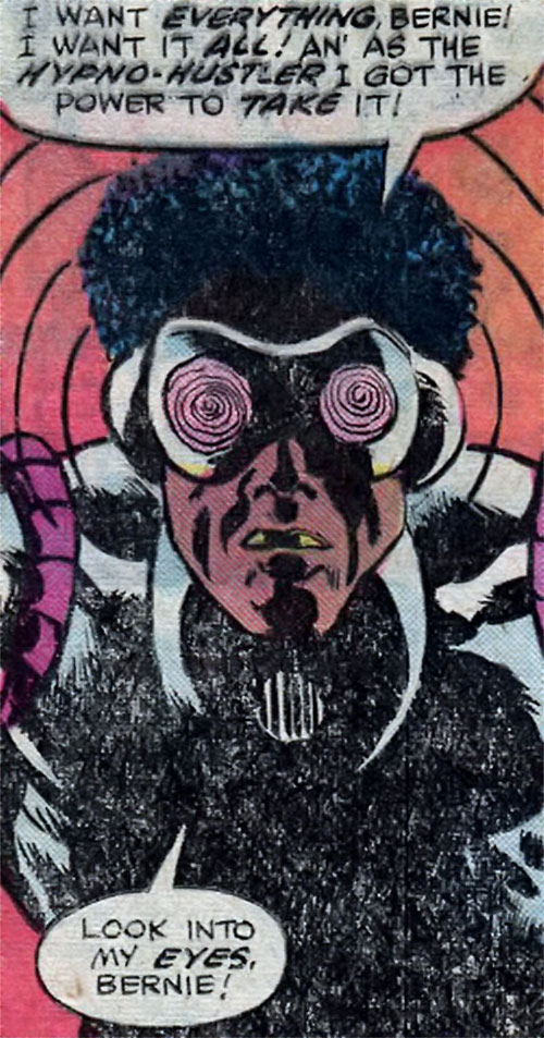 Hypno-Hustler (Spider-Man enemy)'s hypnotic goggles