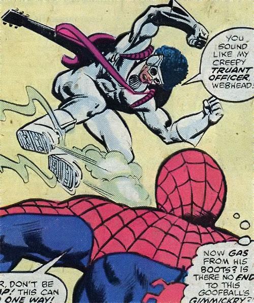 Hypno-Hustler vs. Spider-Man