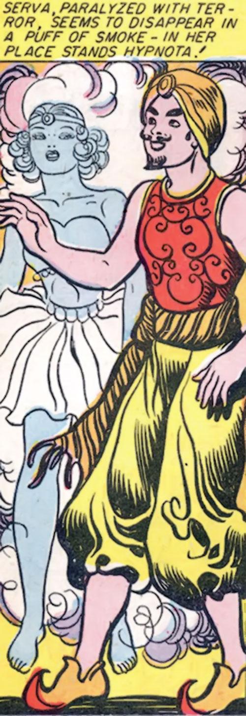 Hypnota (Wonder Woman enemy) (DC Comics) appears