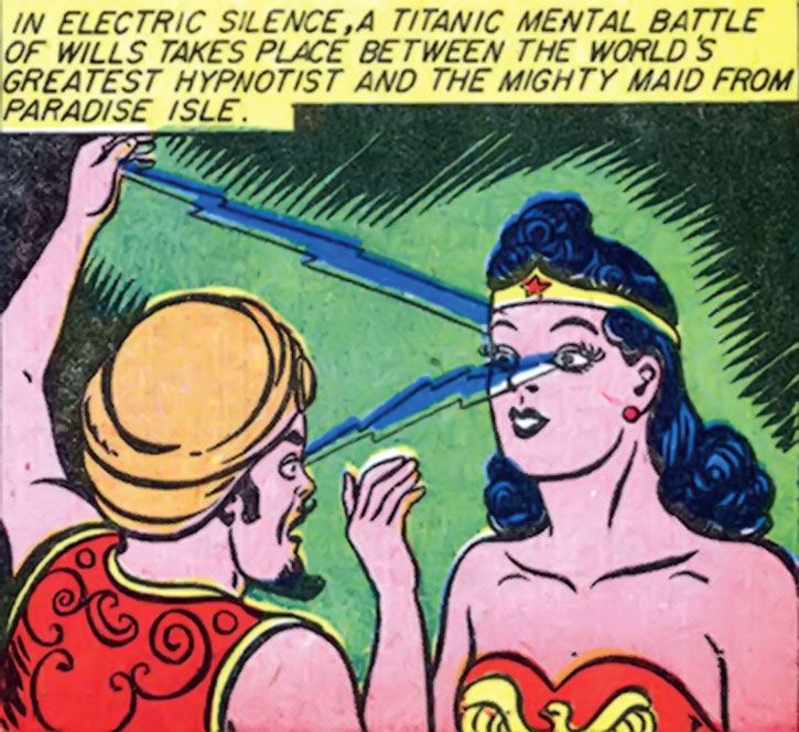 Hypnota mesmerises Wonder Woman