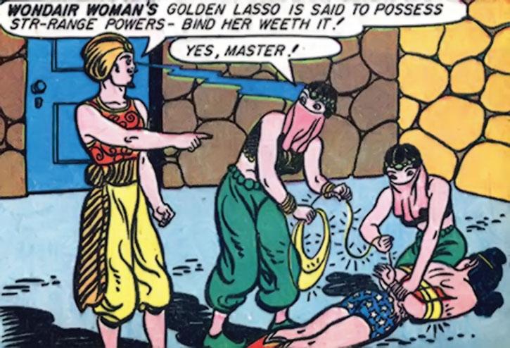 Hypnota captures Wonder Woman
