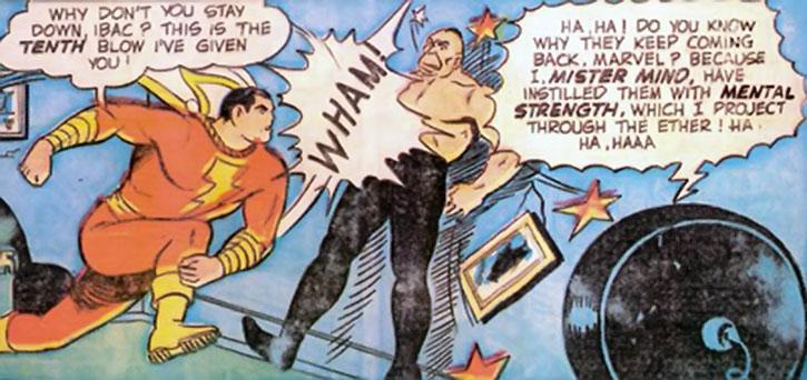 Ibac vs. Captain Marvel