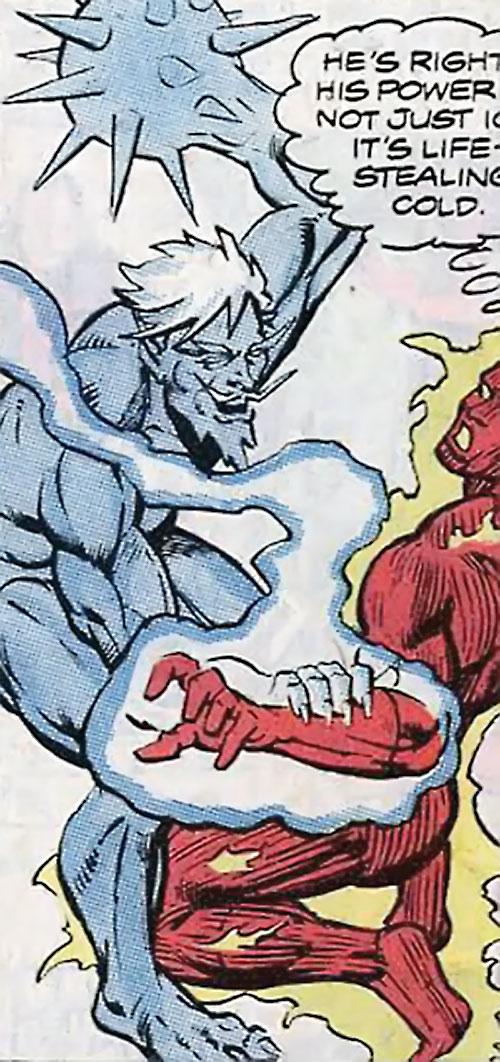 Icemaster (Hostess Comics) vs. the Human Torch