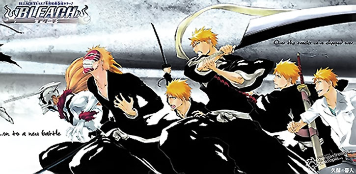 Ichigo appearances in Bleach