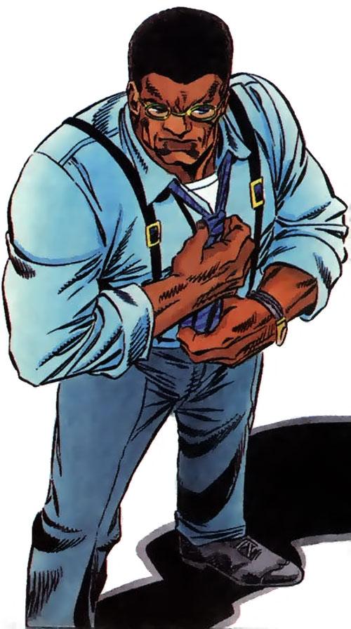 Icon (Milestone comics) in his civvies
