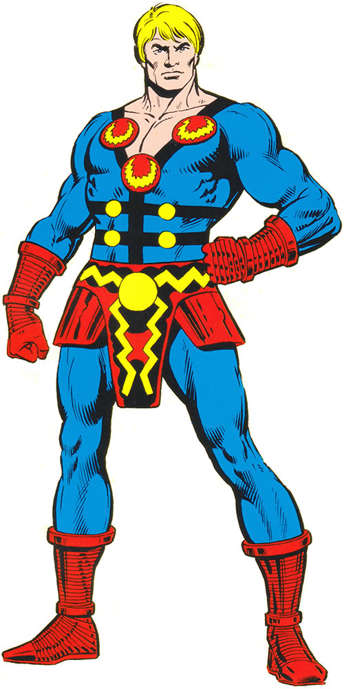Ikaris the Eternal (Marvel Comics) from the older handbook