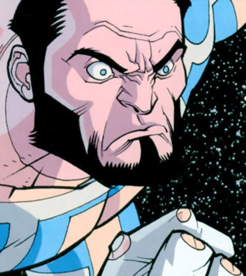 Immortal of the Guardians of the Globe (Invincible comics) outraged in space