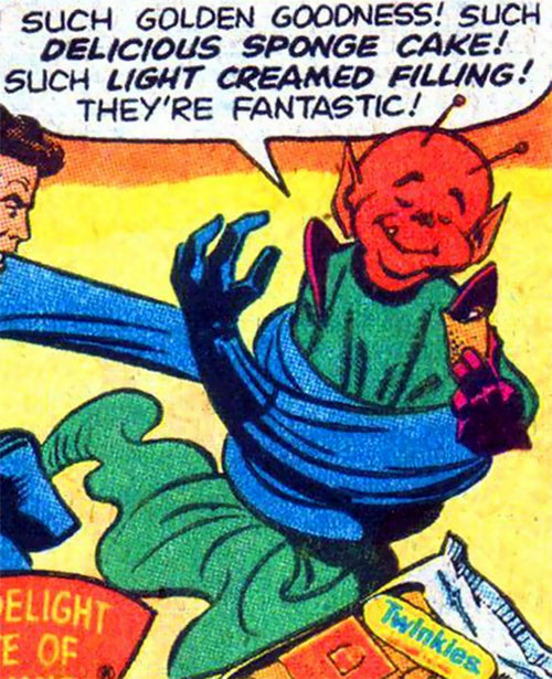 Impercepto (Hostess Comics) vs. Mr. Fantastic