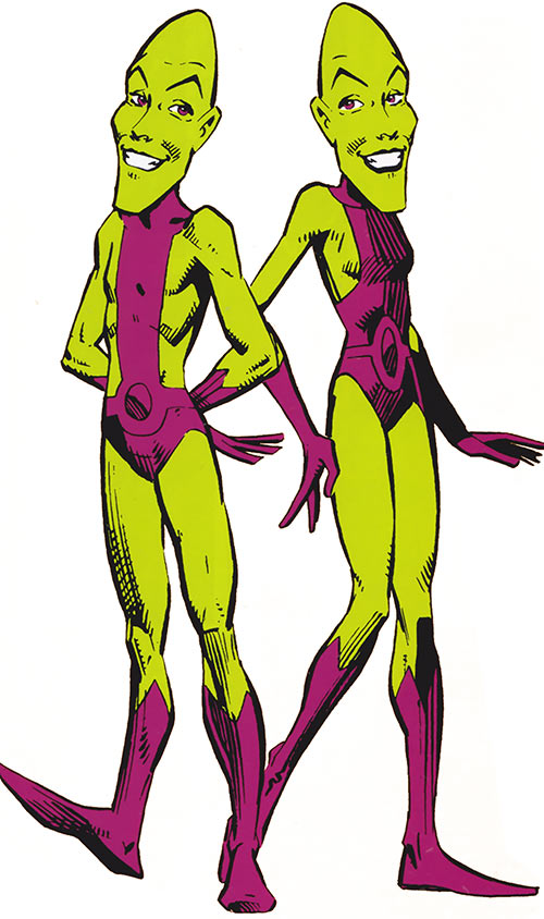 Impossible Man (Fantastic 4 character) (Marvel Comics) and Impossible Woman