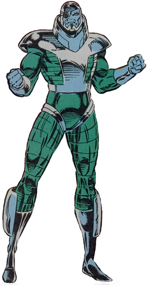 Imprint of the Inhuman Assassination Squad (Guardians of the Galaxy enemy) (Marvel Comics)