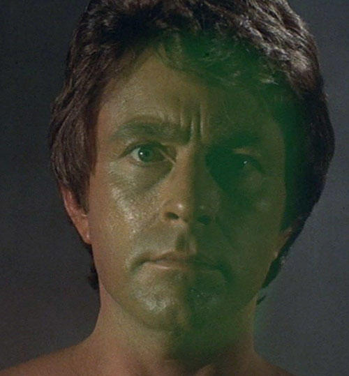 Hulk (Lou Ferrigno / Bill Bixby TV show) - David Banner face closeup