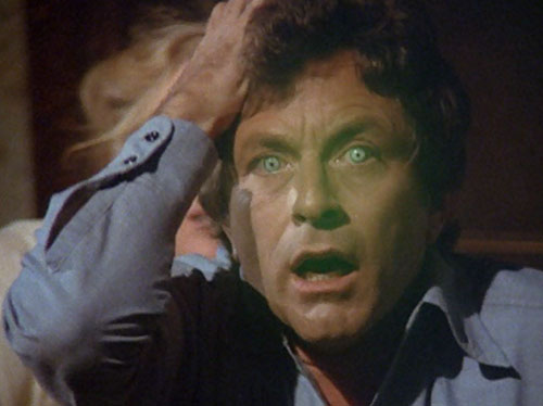 Hulk (Lou Ferrigno / Bill Bixby TV show) - Banner's eyes glowing green