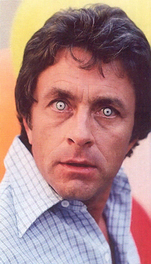 Bruce Banner (Bill Bixby) about to become the Hulk