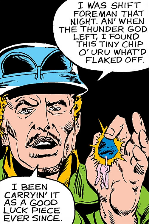 Inferno (Conroy) (Marvel Comics) (Avengers character) human face