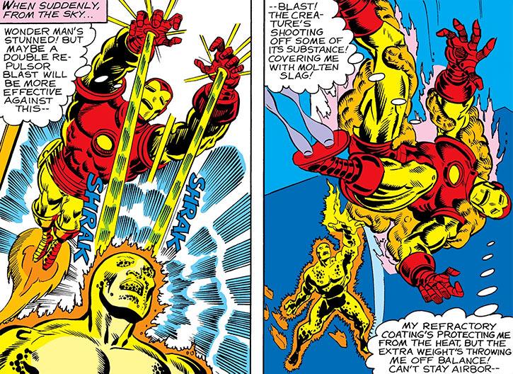 Inferno (Conroy) (Marvel Comics) (Avengers character) vs. Iron Man