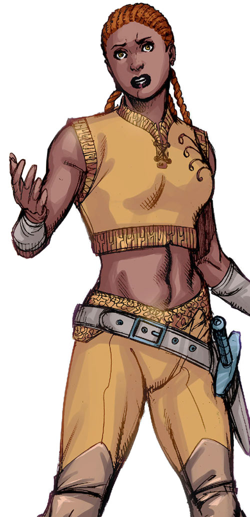 Lady Ingvie of the House of Citrine (Amethyst DC Comics)