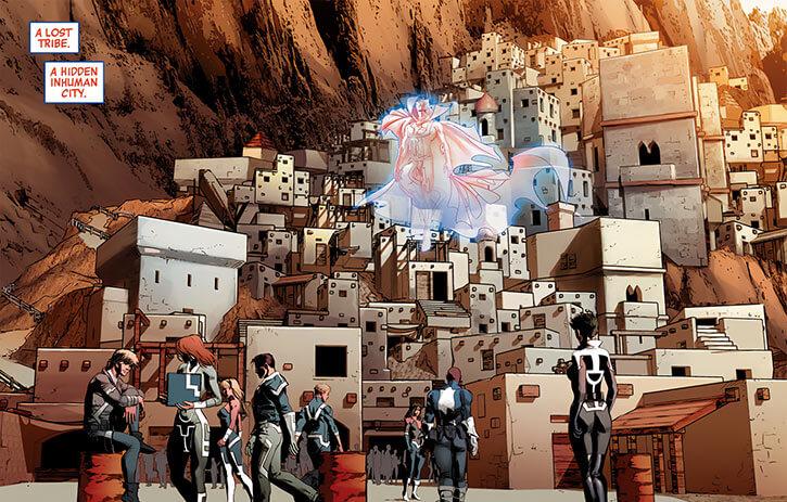 Inhumans (Marvel Comics) ancient history - Greenland diaspora