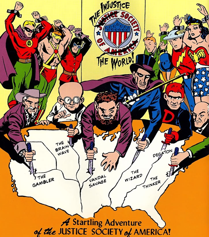 Gambler - Injustice Society - DC comics - Character Profile ...