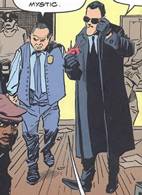 Inspector Judiah Golem (Marvel Comics) (Tomb of Dracula)