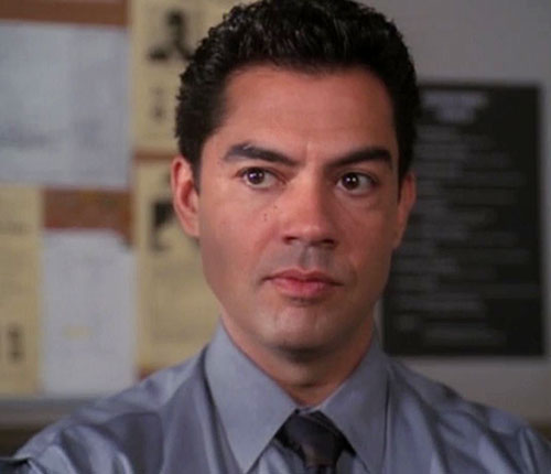 Inspector Rodriguez (Carlos Gomez in Charmed) face closeup