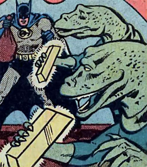 Intergalactic Gold Eaters (Hostess Comics) and Batman