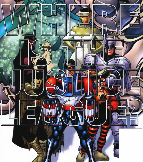 Ultramarines (JLA characters) (DC Comics) - where is the justice league