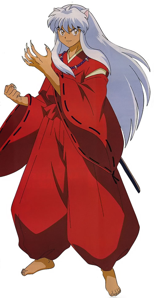 Inuyasha with claws out