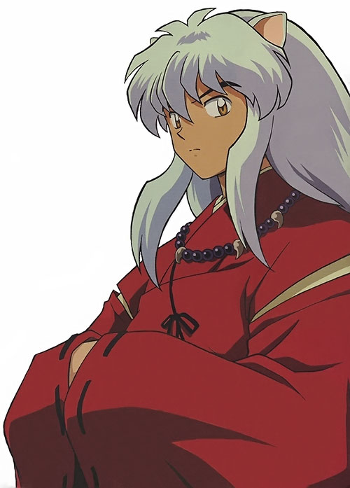 Inuyasha hands in sleeves