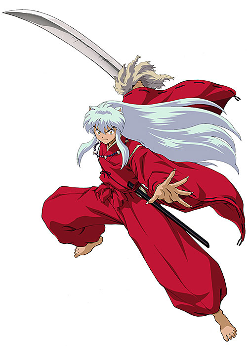 Inuyasha ready to fight