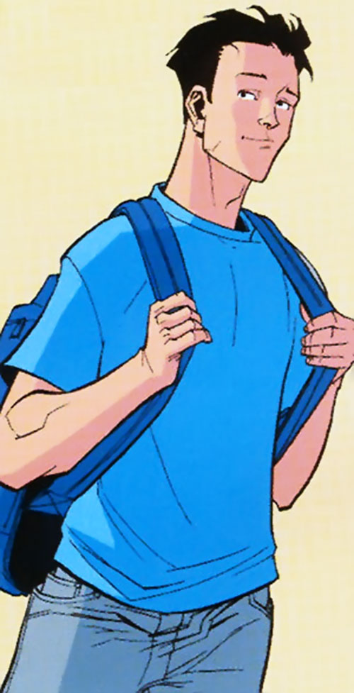 Invincible (Image Comics) in his civvies