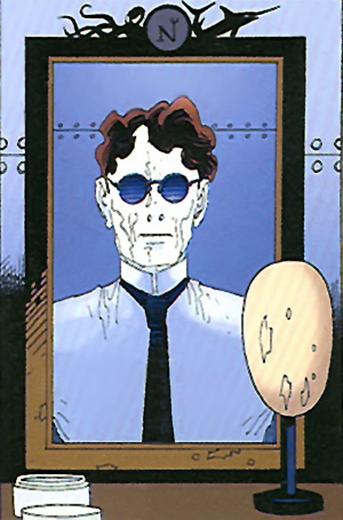 The Invisible Man (League of Extraordinary Gentlemen) with makeup on